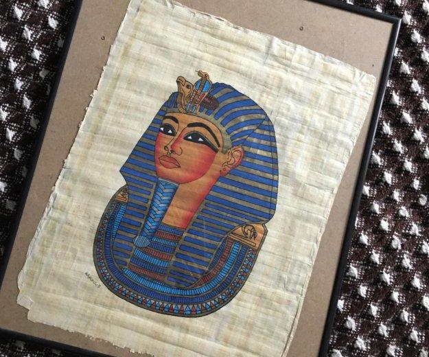 Папирус в рамке большой. Фото 1. Санкт-Петербург.