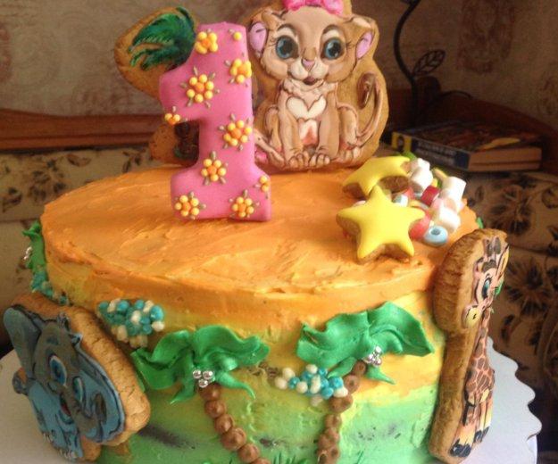 Торты и пирожные, пряники на заказ. Фото 4. Москва.