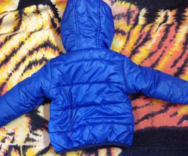 Куртка- бомбер детская весна/осень 74 р. Фото 2. Санкт-Петербург.