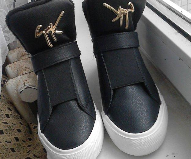 Ботинки осенние. Фото 1. Гатчина.
