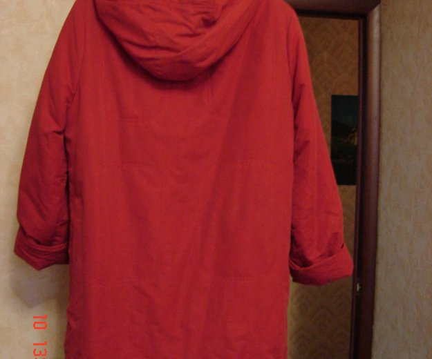 Куртка- пальто (осень). Фото 1. Санкт-Петербург.
