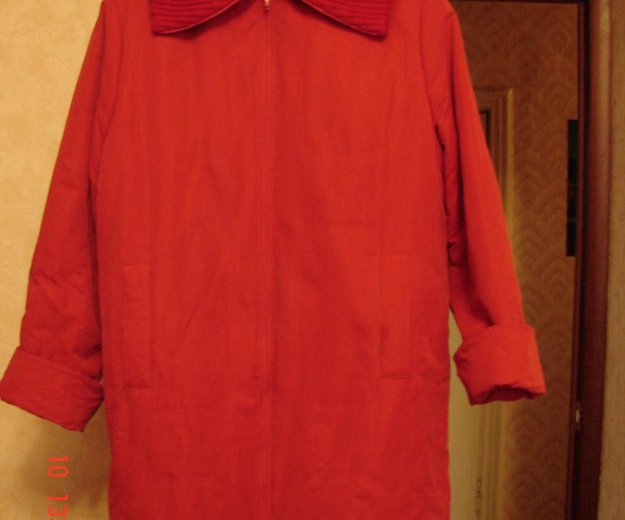 Куртка- пальто (осень). Фото 2. Санкт-Петербург.