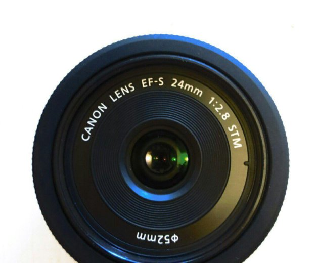 Объектив canon ef-s 24 mm/2.8 stm. Фото 2. Москва.