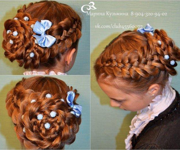 Обучение плетению кос. Фото 3. Омск.