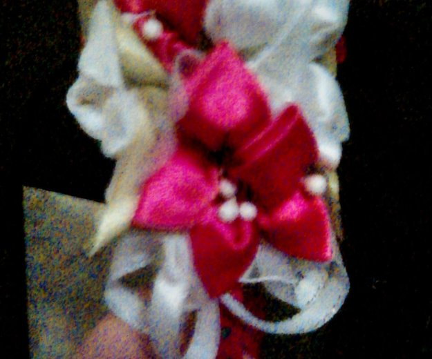 Ободок с самозделанным цветком. Фото 2. Владимир.