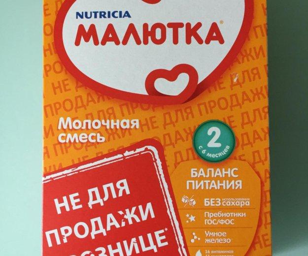Сухая смесь малютка 2, nutricia, с 6 мес., 350 гр. Фото 1.
