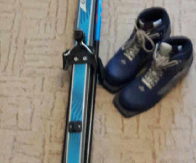 Зимние лыжи и ботинки с размером 37. Фото 2. Балашиха.