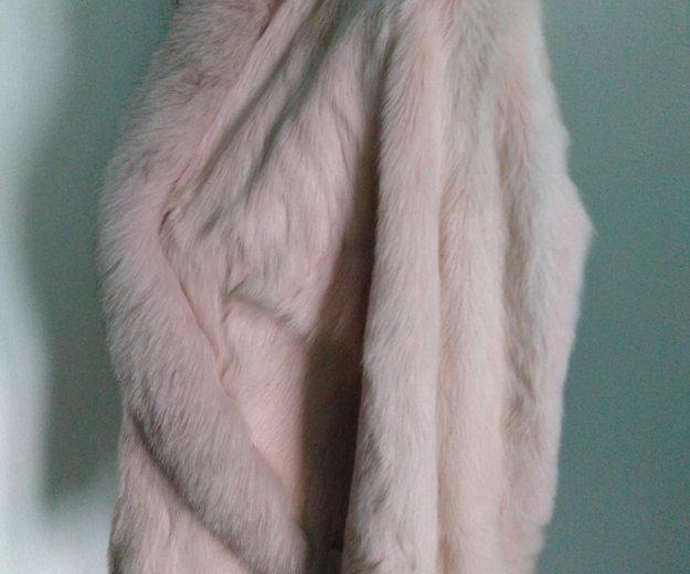Розовая курточка-шубка из козы. Фото 2. Новосибирск.
