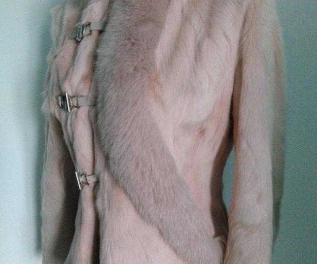 Розовая курточка-шубка из козы. Фото 3. Новосибирск.