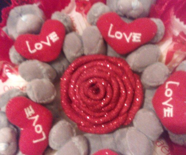 Букет из конфет и игрушек. Фото 1. Пенза.