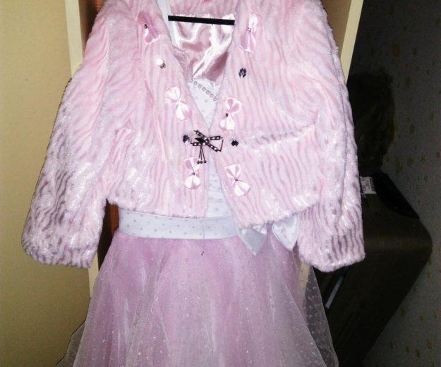 Платье с шубкой. Фото 2. Лобня.