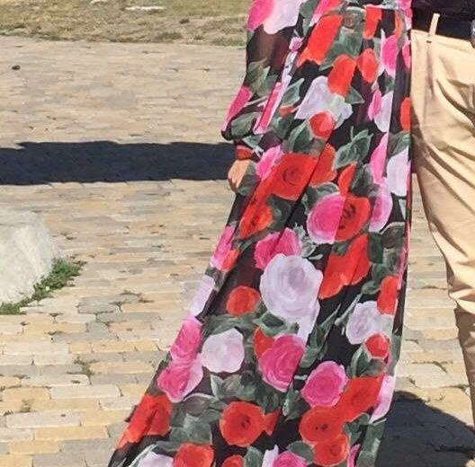 Платье в пол. Фото 1. Ессентуки.
