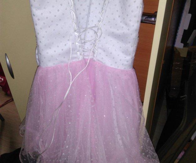 Платье с шубкой. Фото 4. Лобня.