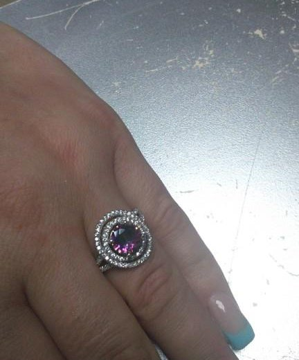 Кольцо серебро с топазом. Фото 1. Жуковский.