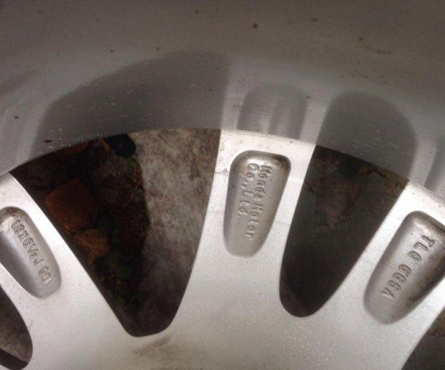 Резина на дисках хонда аккорд 8. Фото 2. Мытищи.