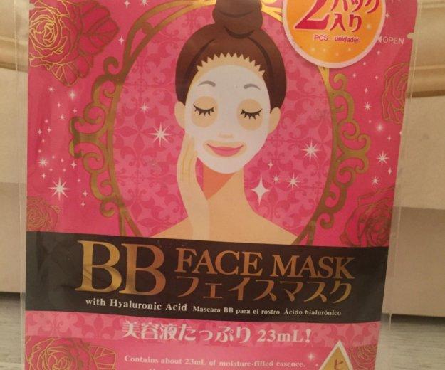 Японская маска для лица. Фото 1.