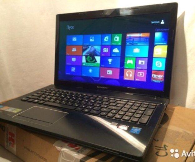 Игровой 4-х ядерный ноутбук lenovo core i5. Фото 1. Курск.