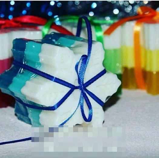 Новогодний подарок - мыло ручной работы. Фото 1. Реутов.