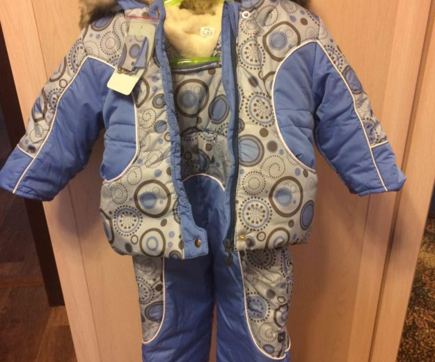 Новый зимний комбинезон для мальчика. Фото 1. Москва.