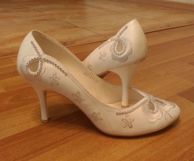 Туфли свадебные. Фото 1. Люберцы.