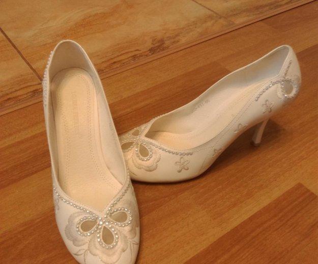 Туфли свадебные. Фото 4. Люберцы.