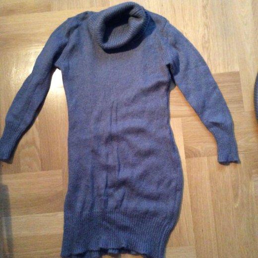 Платье шерстяное вязаное. Фото 2. Москва.