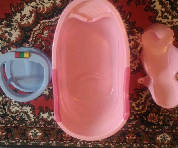Продам ванну детскую,горку и стульчик для купания,. Фото 4.