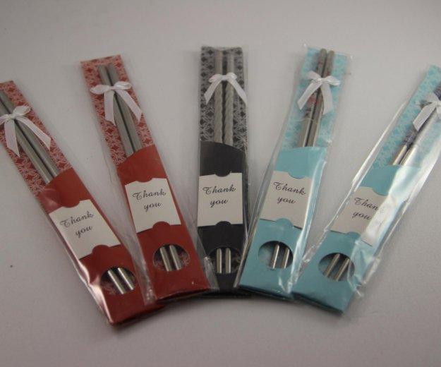 Метеллические палочки для суши. Фото 4. Москва.