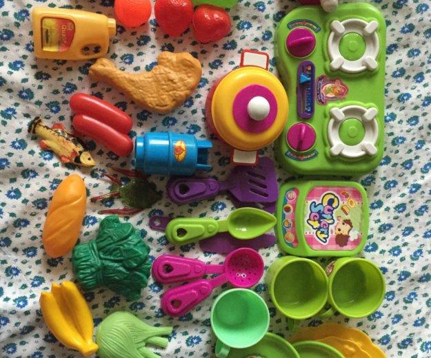 Детская игрушечная посудка. Фото 1.