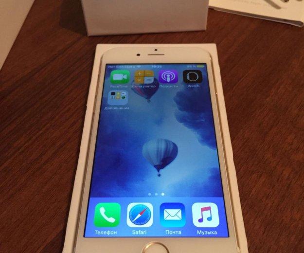 Iphone 6 16gb gold. Фото 1.