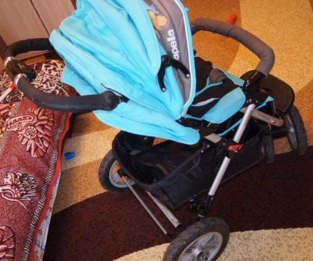 Продаю детская коляска capella prism s-901wf 2014. Фото 2. Москва.