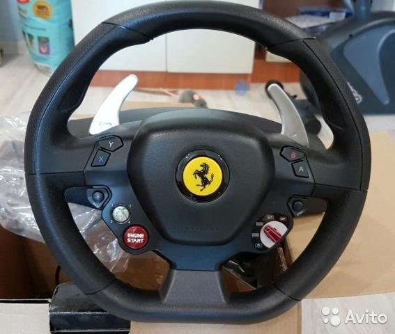 Руль, педали ferrari 458 для xbox 360 и пк. Фото 2. Краснодар.