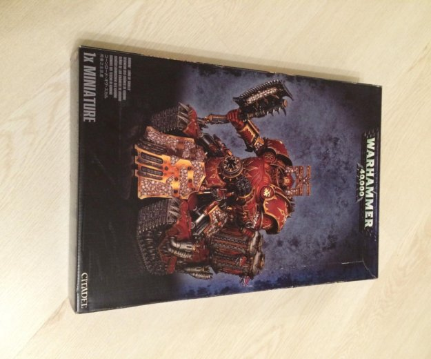Warhammer 40000 / владыка черепов кхорна (khorne l. Фото 1. Москва.