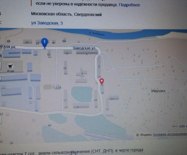 Участок 7 соток+хоз.блок(снт, днп). Фото 4. Москва.