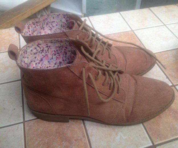 Ботинки hm. Фото 2.