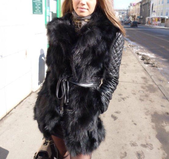 Меховая куртка-жилетка. Фото 1. Москва.
