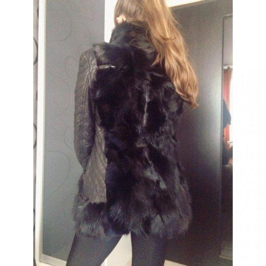 Меховая куртка-жилетка. Фото 3. Москва.