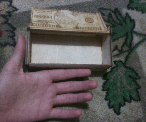 Сувенир, шкатулка для денег, деревянная. Фото 4. Бийск.