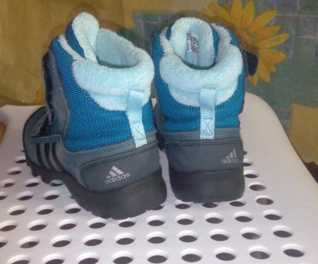 Детские зимние  ботинки adibas 26 размер. Фото 2. Электросталь.