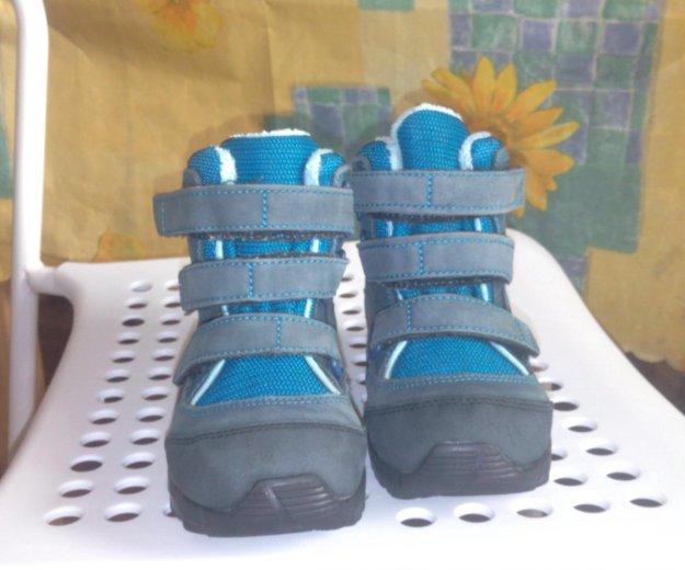 Детские зимние  ботинки adibas 26 размер. Фото 3. Электросталь.