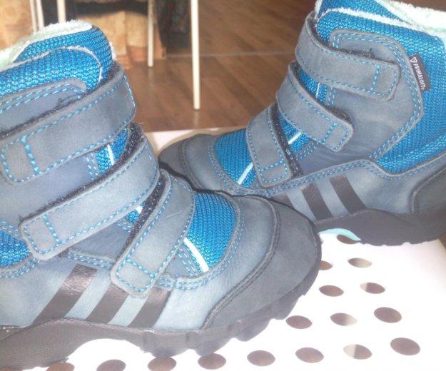 Детские зимние  ботинки adibas 26 размер. Фото 4. Электросталь.