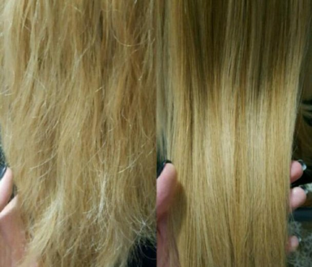 Полировка волос. Фото 1. Краснодар.