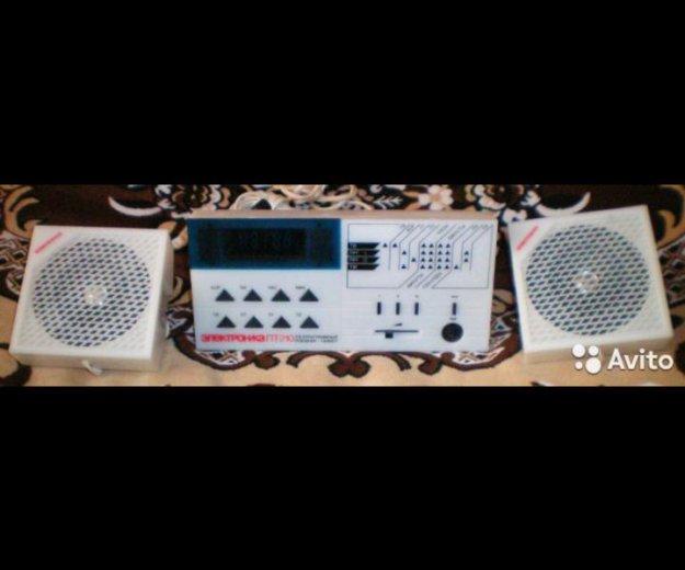 Радио с часами электроника пт-210. Фото 2. Анапа.
