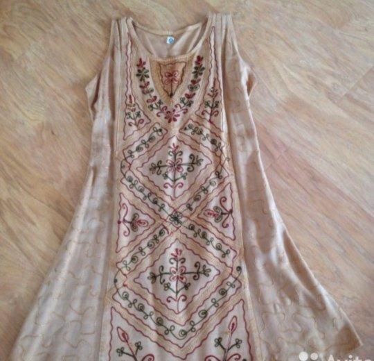 Платье эксклюзив 100% хлопка. Фото 1. Тюмень.