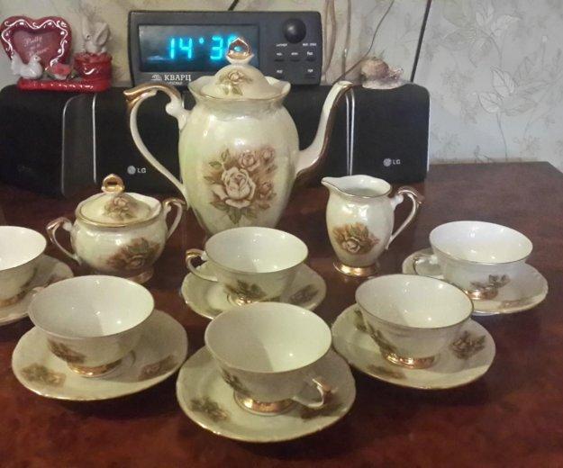 Кофейный сервиз 15 предметов польша. Фото 1. Москва.