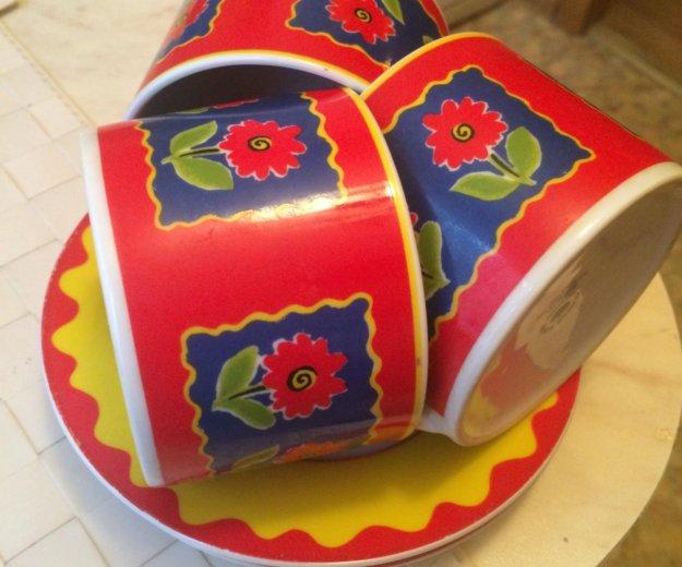Три чашки с блюдечками. Фото 2. Москва.