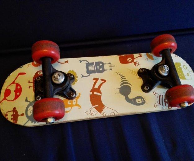 Скейт детский+самокат 3-4 года. Фото 2.