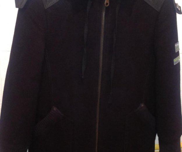 Пальто кошемировое на мальчика на 8-9 лет. Фото 1. Люберцы.