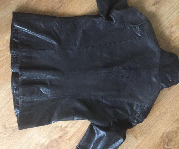 Кожаная куртка. Фото 3. Красногорск.