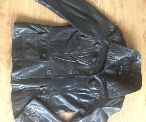 Кожаная куртка. Фото 2. Красногорск.
